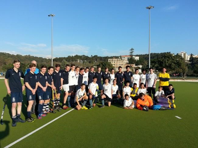 U18 Boys with Harrow School